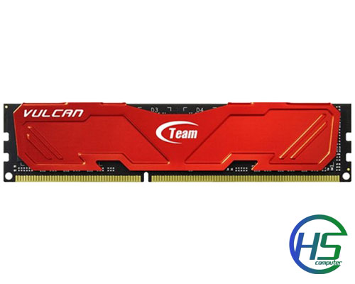 RAM TEAM Vulcan 1x8GB DDR3 1600MHz - BH 04/2022