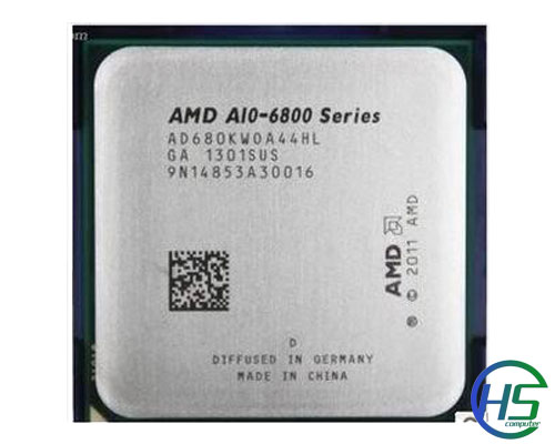 AMD A10-6800K (quad core, 4,1 Ghz, FM2)