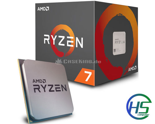 AMD Ryzen 7 2700X ( 3.7GHz/4.3GHz)/ 20MB/ 8 Cores 16 Threads/ Socket AM4 new full box - BH 36 tháng