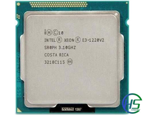 Intel Xeon E3-1220V2 (3.1GHz-3.5GHz, 8MB cache, socket 1155)