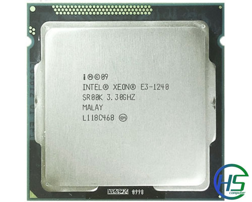 Intel Xeon E3-1240 (3.3GHz-3.7Ghz, 8MB cache, socket 1155)