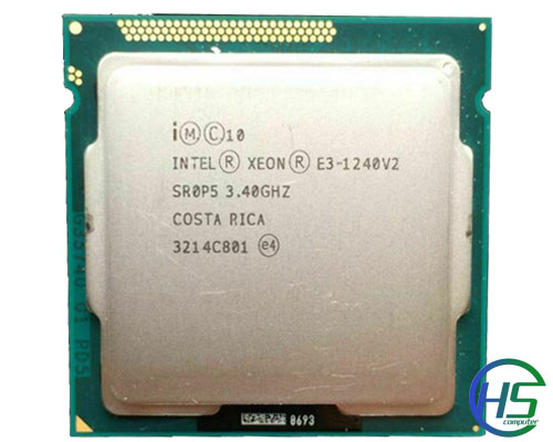 Intel Xeon E3-1240v2 (3.4GHz-3.8GHz, 8MB cache, Socket 1155)