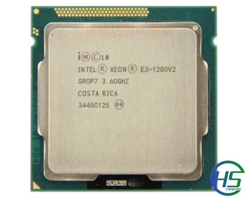 Intel Xeon E3-1280V2 (3.6GHz-4GHz, 8MB cache, socket 1155)