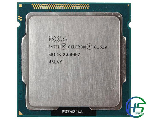 Intel Celeron G1610 (2.6GHz, 2MB cache, socket 1155)
