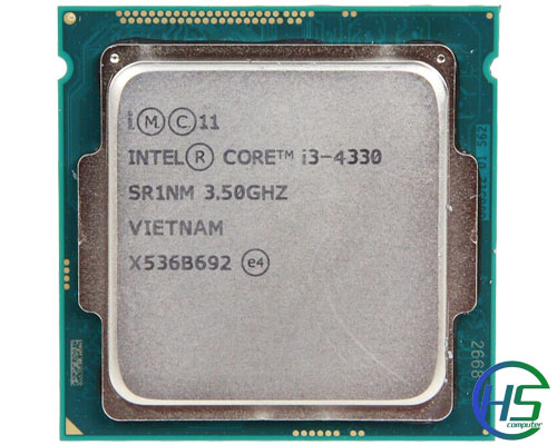 Intel Core i3-4330 (3.5GHz, 4MB cache, socket 1150)