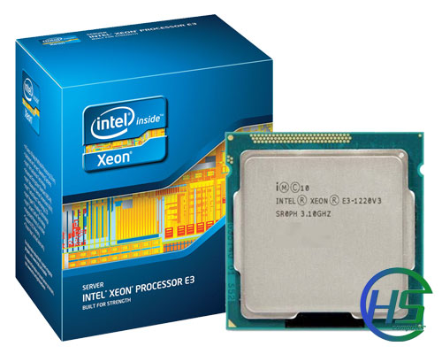 Intel Xeon Quad-Core E3-1220v3 (3.10GHz, 8MB L3 Cache, Socket LGA 1150, 5 GT/s Intel QPI)