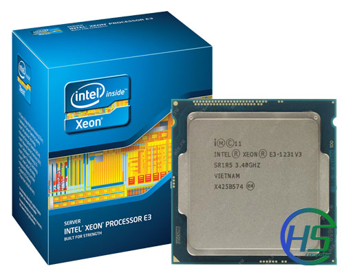 Intel Xeon Processor E3-1231v3 (3.4GHz, 8MB L3 Cache, Socket LGA 1150, 5 GT/s)
