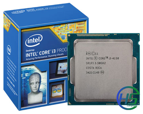 Intel Core i3-4150 (3.50GHz, 3MB Cache, Socket LGA 1150, 5GT/s)