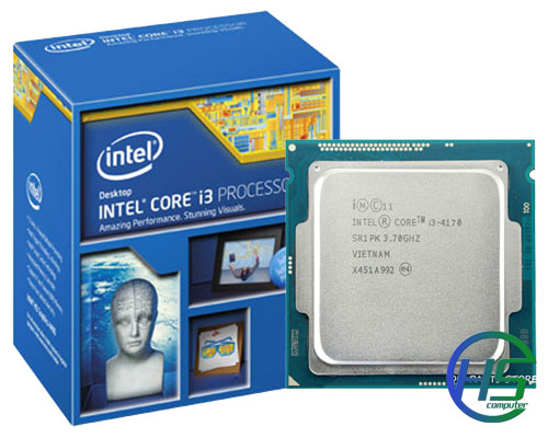 Intel Core i3 – 4170 (3.7Ghz- 4MB Cache, socket 1150)