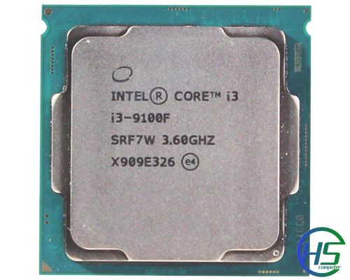 Intel core i3-9100f (3.6Ghz - 4.2GHz,  6MB cache, socket 1151)