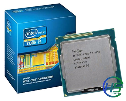 Intel Core i5-3330 (3.0GHz turbo 3.2GHz, 6M L3 Cache, 5GT/s)