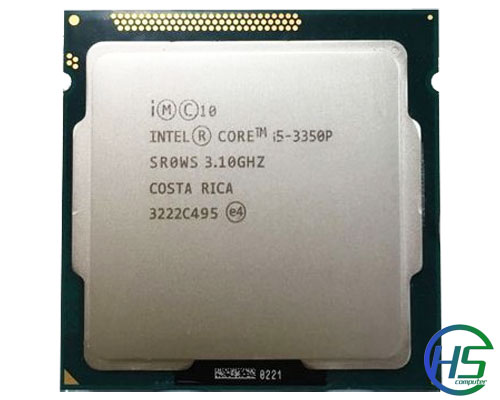 Intel Core i5-3350P (3.1GHz turbo 3.3GHz, 6MB cache, SK1155)