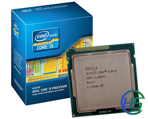 Intel Core i5-3570 (3.4GHz turbo up 3.8GHz, 6MB L3 cache, Socket 1155)