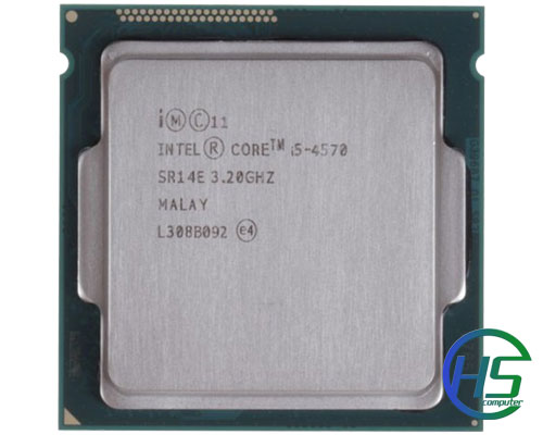 Intel i5 4570 (3.20GHz turbo up 3.60GHz, 6MB L3 cache)