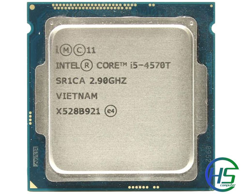 Intel core i5-4570t (2.9GHz turbo 3.6GHz, 4MB cache, socket 1150)