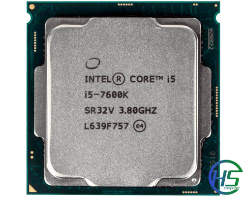 Intel core i5-7600k (4.2Ghz, 6MB cache, Socket 1151)