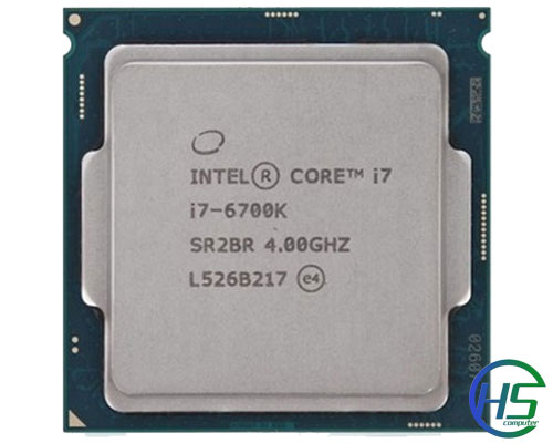 Intel core i7-6700K (4.2Ghz, 8MB Cache, socket 1151)