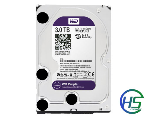Western Digital Purple 3TB 3.5`` SATA 3