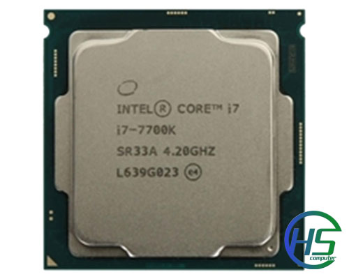 Intel core i7 - 7700K (8Mb cache, 4.5GHz)