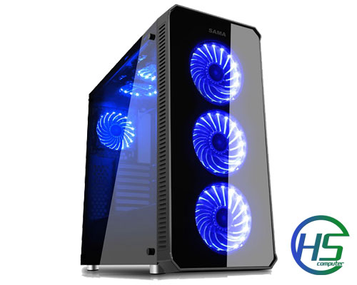 Core i5-4570/8GB/ SSD 240GB/ ASUS GTX1050 2GD5 2 FAN