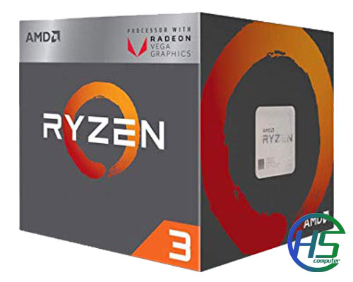 AMD Ryzen 3 2200G (4C/4T, 3.5 GHz - 3.7 GHz, 4MB) - AM4