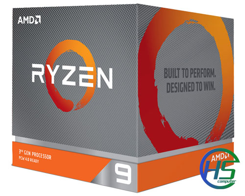 AMD Ryzen 9 3900X (12C/24T, 3.8 GHz - 4.6 GHz, 64MB) - AM4