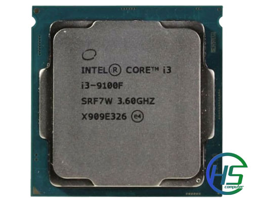 Intel Core i3-9100F (4C/4T, 3.60 GHz - 4.20 GHz, 6MB) - LGA 1151-v2