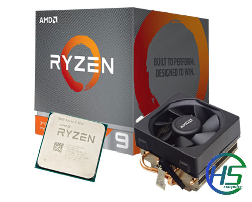 AMD Ryzen 9 3900 (3.1GHz - 4.3GHz| 70MB cache| 12 nhân, 24 luồng| SK AM4) new full box