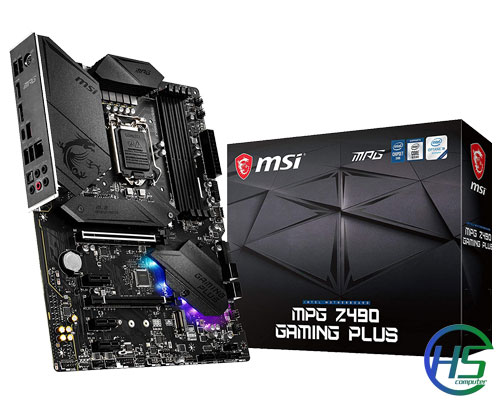 MSI MPG Z490 Gaming Plus, new full box, chính hãng