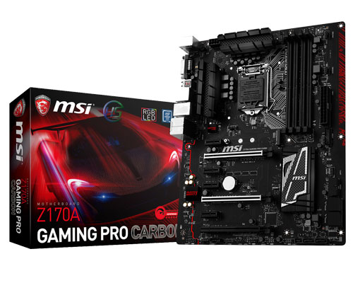 MSI Z170A PRO GAMING CARBON/ SK1151 - BH11/2019