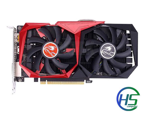 COLORFUL GTX 1050 TI NB 4GB/ 128bit/ DDR5 New - BH 48 tháng