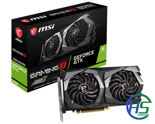 MSI GeForce GTX 1650 4GB GDDR5 Gaming X